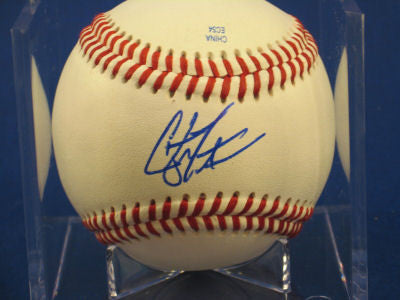 Clayton Tanner signed Baseball Auto