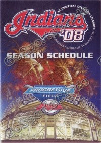 2008 Cleveland Indians A Pocket Schedule