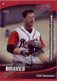 2009 Gwinnett Braves Clint Sammons