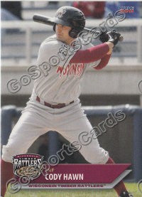 2011 Wisconsin Timber Rattlers Cody Hawn