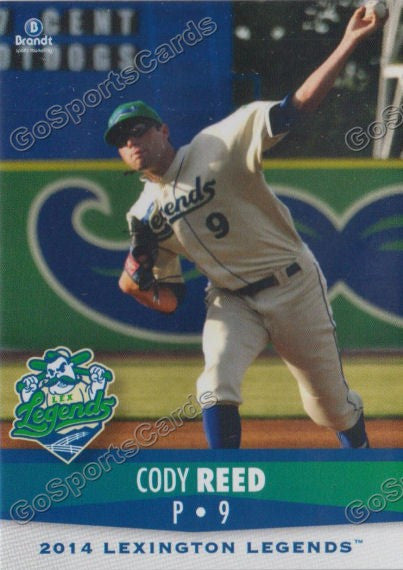 2014 Lexington Legends Cody Reed