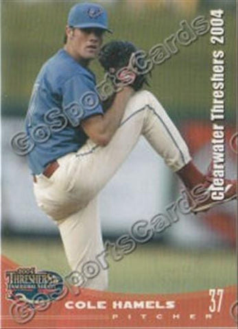2004 Clearwater Phillies Team Set