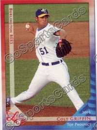 2003 Midwest League Top Prospects Colt Griffin