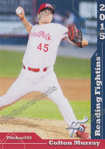 2015 Reading Fightin Phils Update Colton Murray