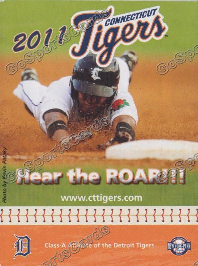 2011 Connecticut Tigers Pocket Schedule