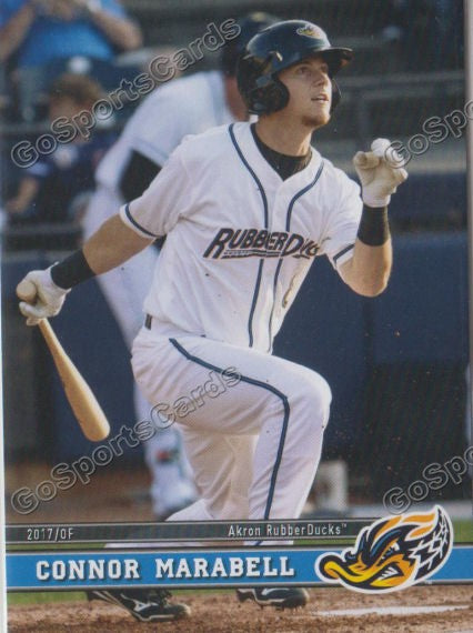 2017 Akron RubberDucks Connor Marabell