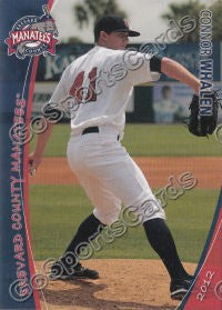 2012 Brevard County Manatees Connor Whalen