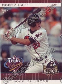2005 Pacific Coast League All-Star Game Multi-Ad Corey Hart