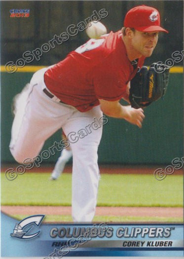 2013 Columbus Clippers Corey Kluber