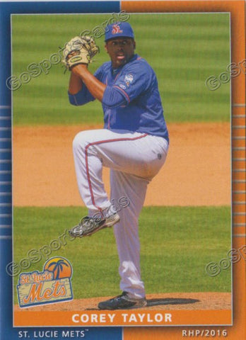 2016 St Lucie Mets Team Set