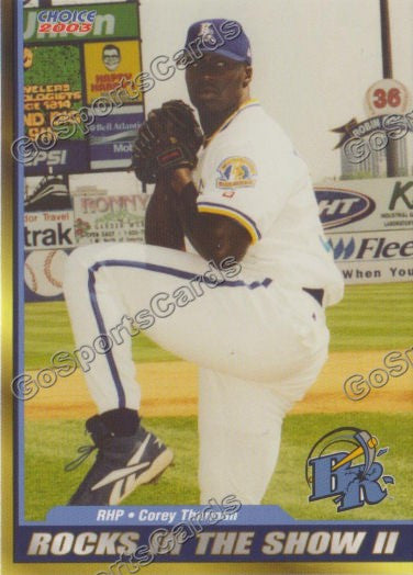 2003 Wilmington Blue Rocks Corey Thurman