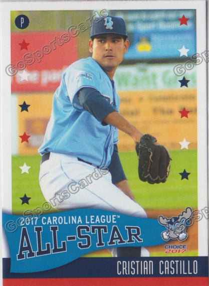 2017 Carolina League All Star N Cristian Castillo