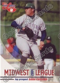 2004 Midwest League Top Prospects Dana Eveland