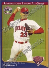 2004 International League All-Stars Dan Giese