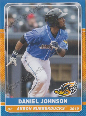 2019 Akron Rubber Ducks Daniel Johnson