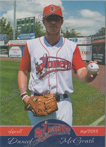 2013 Lowell Spinners Daniel McGrath