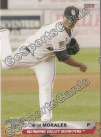 2008 Mahoning Valley Scrappers Daniel Morales