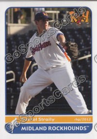 2012 Midland RockHounds Team Set