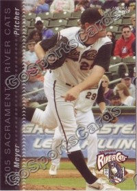2005 Sacramento River Cats Multi-Ad Dan Meyer