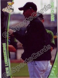 2008 Clinton LumberKings Danny Clark