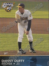 2008 Burlington Bees Team Set (Moustakas, Duffy)
