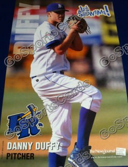 2009 Wilmington Blue Rocks Danny Duffy Poster SGA