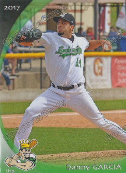 2017 Clinton LumberKings Danny Garcia
