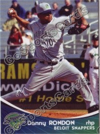 2009 Beloit Snappers Danny Rondon