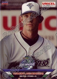 2006 Vermont Lake Monsters Dan Pfau