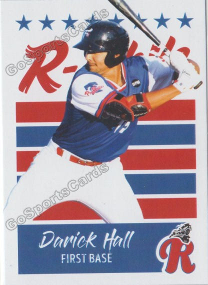 2019 Reading Fightin Phils U3 Darick Hall