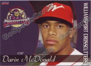 2008 Williamsport Crosscutters Darin McDonald