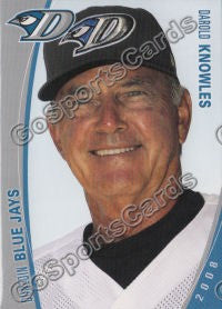2008 Dunedin Blue Jays Darold Knowles
