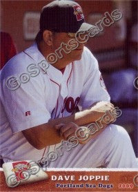 2009 Portland Sea Dogs Dave Joppie