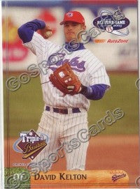2003 Pacific Coast League All-Star Multi-Ad David Kelton