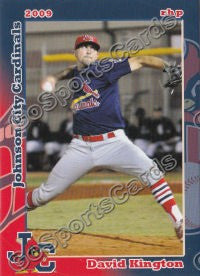 2009 Johnson City Cardinals David Kington
