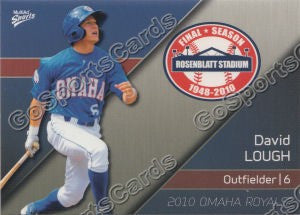 2010 Omaha Royals David Lough