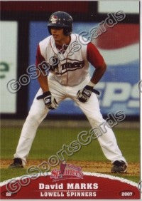 2007 Lowell Spinners David Marks