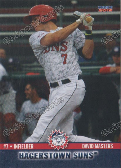 2015 Hagerstown Suns David Masters