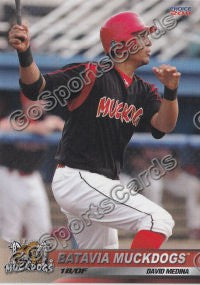 2011 Batavia Muckdogs David Medina