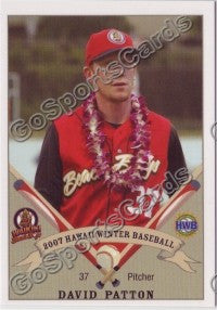 2007 Waikiki Beachboys Hawaii League DAVID PATTON