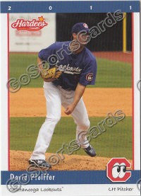 2011 Chattanooga Lookouts David Pfeiffer
