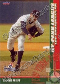 2008 New York Penn League Top Prospects David Phelps