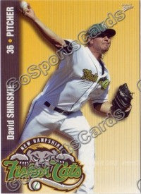 2009 New Hampshire Fisher Cats David Shinskie