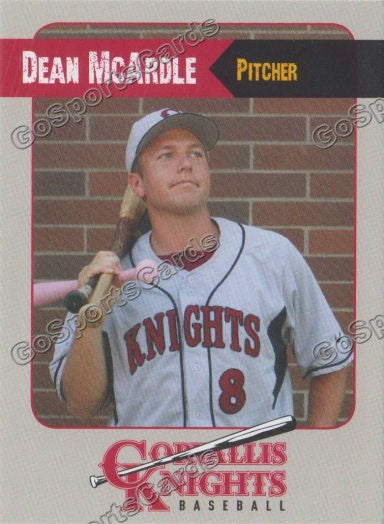 2011 Corvallis Knights Dean Mcardle