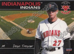 2011 Indianapolis Indians Dean Treanor
