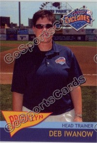 2010 Brooklyn Cyclones Deb Iwanow