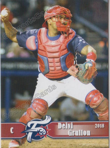2018 Reading Fightin Phils Deivi Grullon