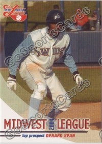 2004 Midwest League Top Prospects Denard Span