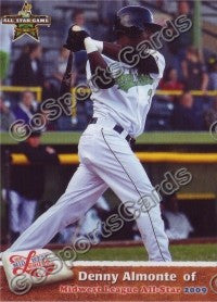 2009 MidWest League All Star Western Division Denny Almonte