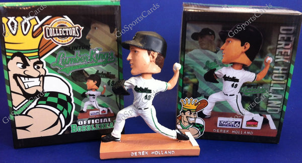 Derek Holland 2012 Clinton LumberKings Bobblehead SGA